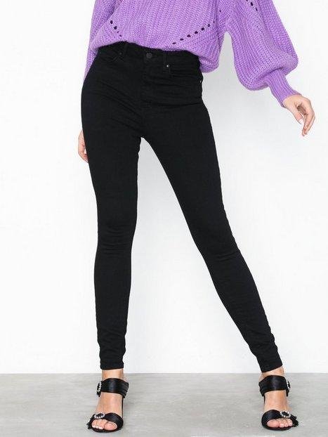 Billede af Gina Tricot Gina Curve Jeans Slim fit Sort