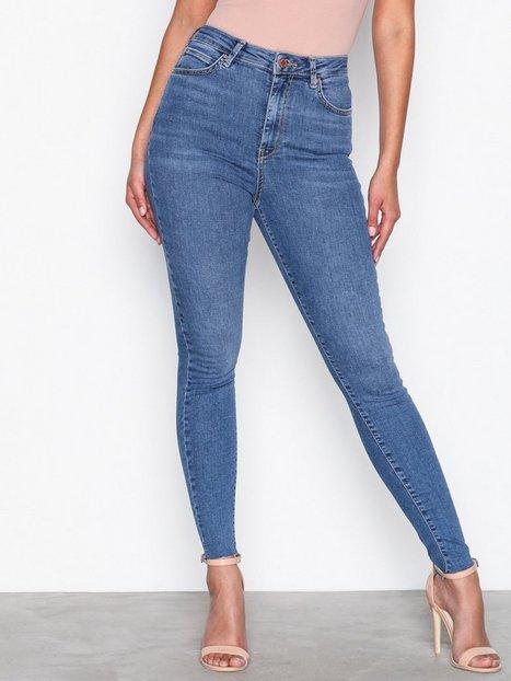 Billede af Gina Tricot Gina Curve Jeans Skinny Blue