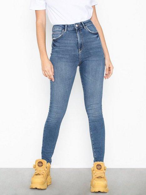 Billede af Gina Tricot Gina Curve Jeans Skinny fit Mid Blue