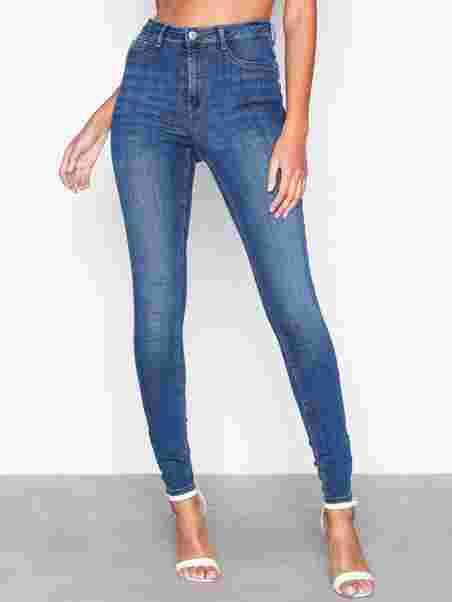873899cd2c12 Shoppa Molly High Waist Jeans - Online Hos Nelly.com