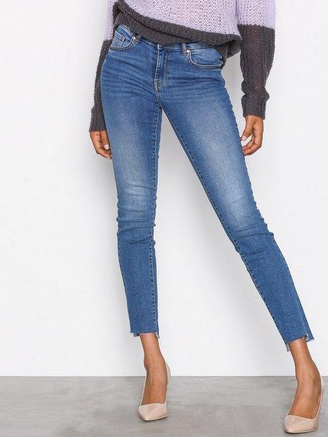 Billede af Gina Tricot Emma Jeans Skinny Mid Blue