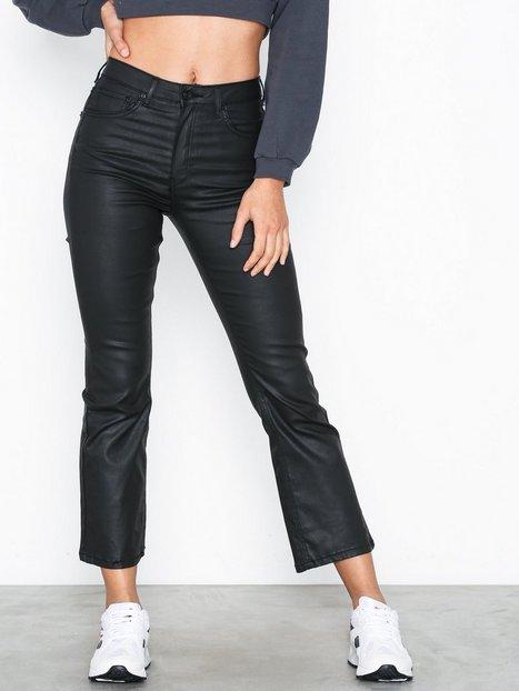 Billede af Gina Tricot Nova Kickflare Black Coated Jeans Bootcut & flare