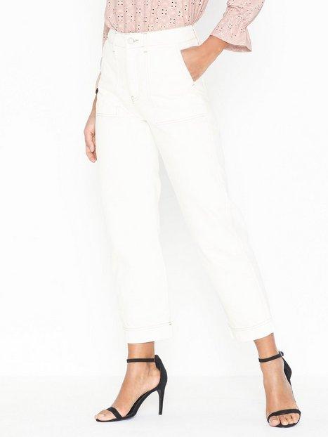 Billede af Gina Tricot Contrast Worker Jeans Straight fit