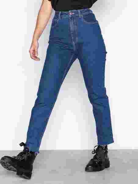 461fba0d96f7 Donna Abstract Blue - Cheap Monday - Blue - Jeans - Clothing - Women ...