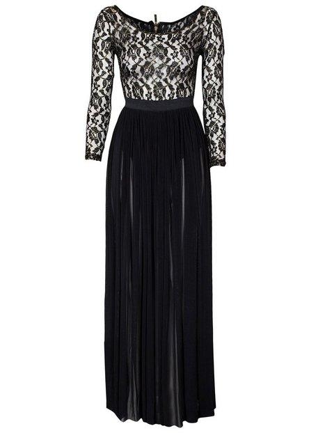 Metallic Lace Maxi Dress