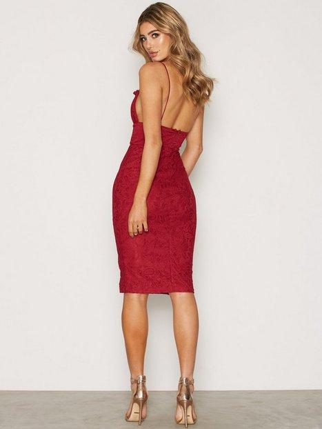 Rare london red lace dress