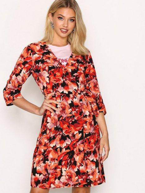 Billede af Moves Liga Dress Loose fit dresses Red