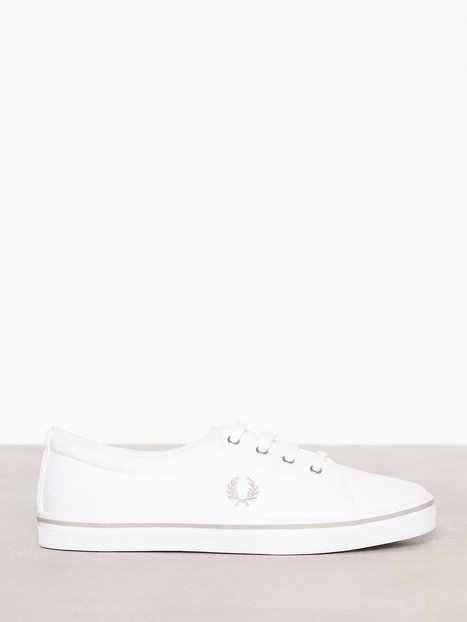 Billede af Fred Perry Aubyn Canvas Low Top White