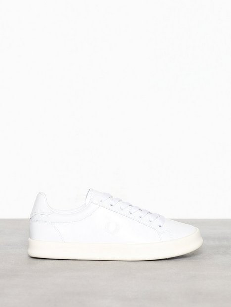 Billede af Fred Perry B721 Vulcanised LTH Low Top White
