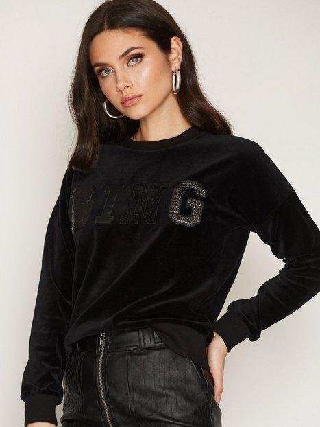 Billede af Anine Bing Bing Sweater In Velvet Sweatshirt Black