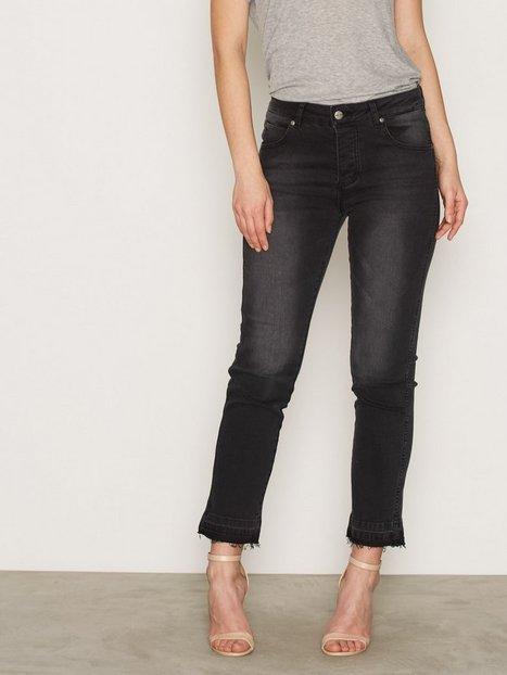 Billede af Anine Bing Raw Hem Jeans Straight Kul