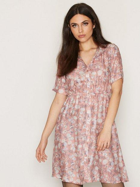 Billede af Anine Bing Floral Silk Dress Loose fit dresses Print