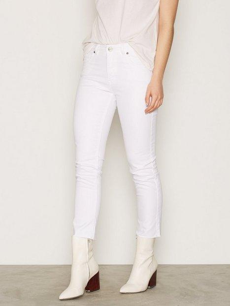 Billede af Anine Bing White Jeans Slim fit White