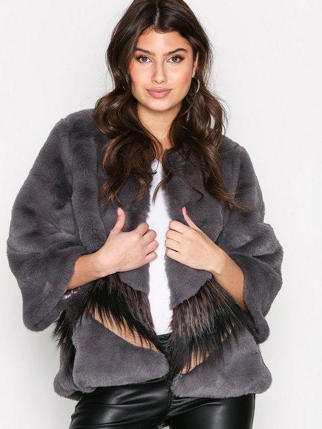 Billede af Munthe Sati Jacket Faux Fur Grey