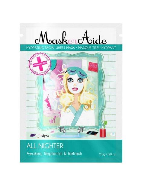 Billede af MaskerAide All Nighter Sheet Mask Ansigtsbehandling White