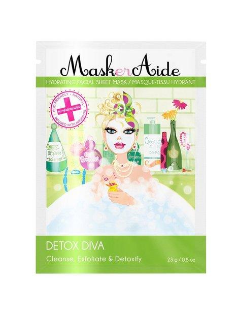 Billede af MaskerAide Detox Diva Sheet Mask Ansigtsbehandling White
