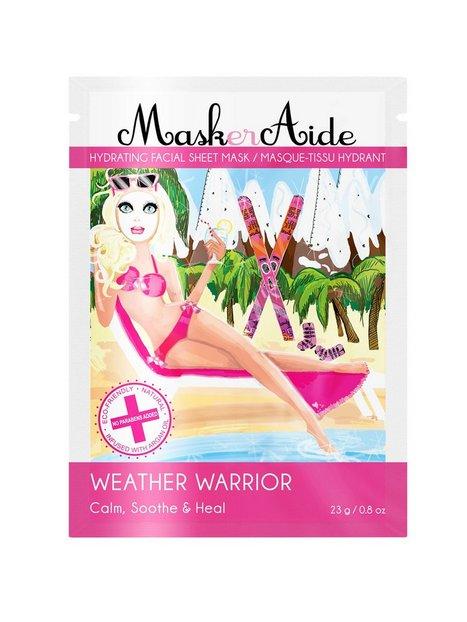 Billede af MaskerAide Weather Warrior Sheet Mask Ansigtsbehandling White
