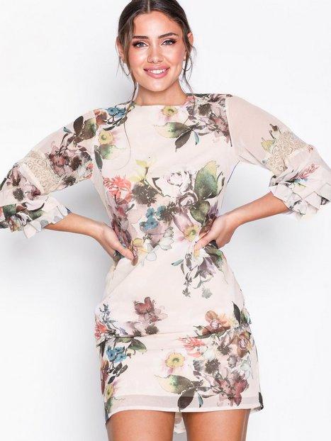 Billede af Little Mistress Floral Midi Dress Loose fit Multi