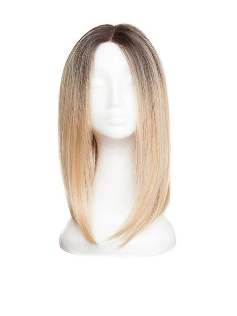 Billede af Rapunzel Of Sweden Lace Front Peruk - Lob 40cm Hair extensions Chocolate Brown/ Scandinavian Blond