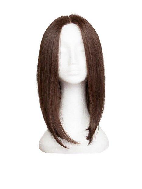 Billede af Rapunzel Of Sweden Lace Front Peruk - Lob 40cm Hair extensions Coffee Brown
