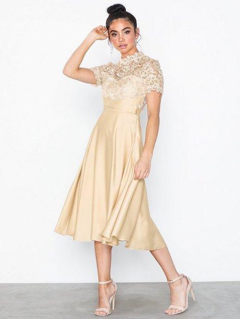 Billede af Little Mistress Lizzy Crochet Lace Midi Dress Skater kjoler