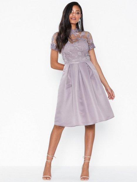 Billede af Little Mistress Knee Length Embroidery Mesh Dress Skater kjoler