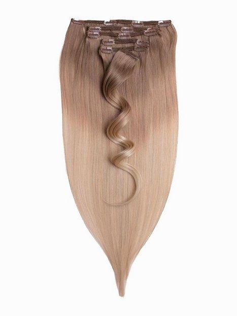 Billede af Rapunzel Of Sweden 50 cm Ombre Clip-On Set 7 pieces Hår forlængning Cendre Ash Blond