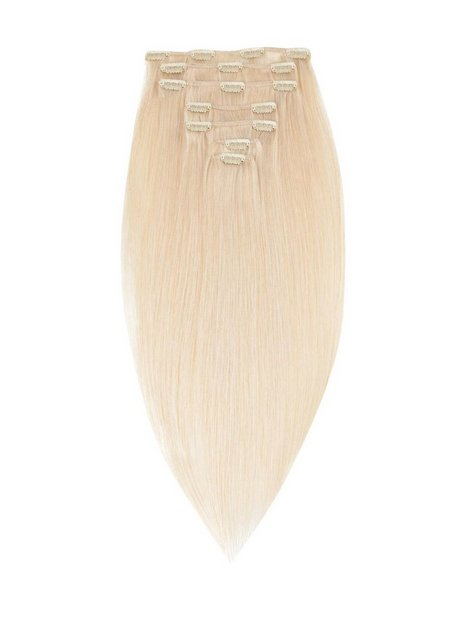 Billede af Rapunzel Of Sweden 50 cm Clip-On Set Original 7 pieces Hair extensions Light Blond
