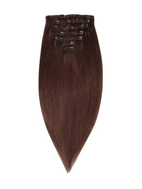 Billede af Rapunzel Of Sweden 50 cm Clip-On Set Original 7 pieces Hår forlængning Chocolate Brown
