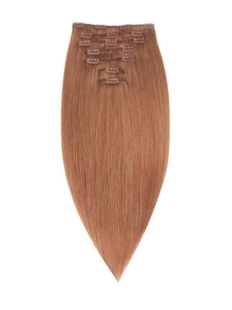 Billede af Rapunzel Of Sweden 50 cm Clip-On Set Original 7 pieces Hair extensions Golden Brown