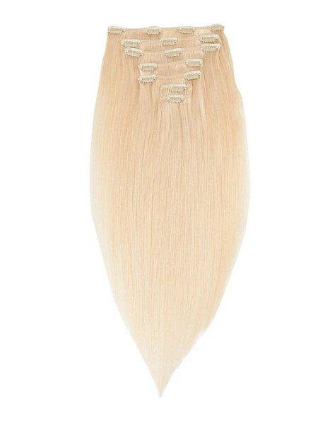Billede af Rapunzel Of Sweden 50 cm Clip-On Set Original 7 pieces Hair extensions Light Golden Blond