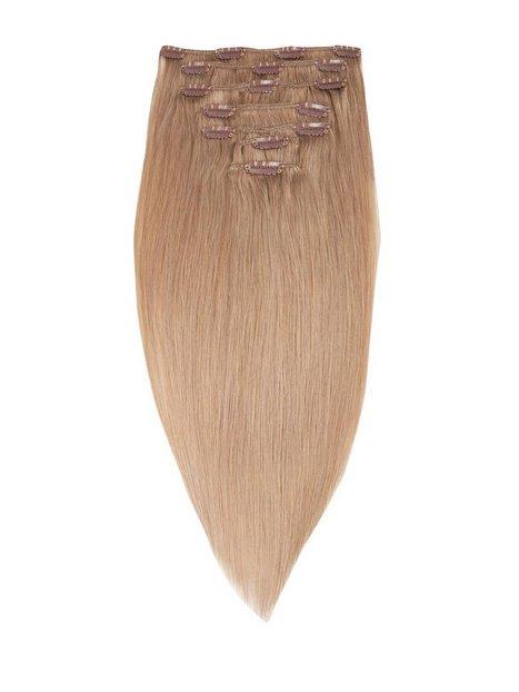 Billede af Rapunzel Of Sweden 50 cm Clip-On Set Original 7 pieces Hår forlængning Cendre Ash Blond