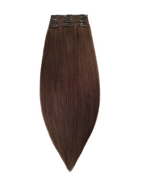 Billede af Rapunzel Of Sweden 50 cm Clip-on set Original 3 pieces Hår forlængning Chocolate Brown