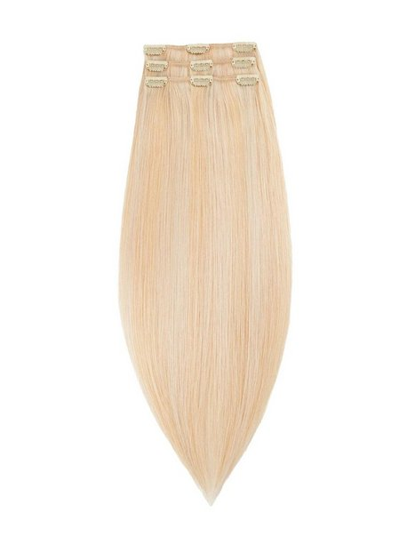 Billede af Rapunzel Of Sweden 50 cm Clip-on set Original 3 pieces Hair extensions Light Golden Blond Mix