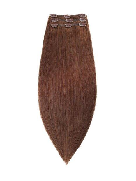Billede af Rapunzel Of Sweden 50 cm Clip-on set Original 3 pieces Hair extensions Dark Brown