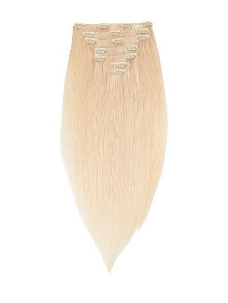 Billede af Rapunzel Of Sweden 30 cm Clip-on set Original 7 pieces Hårpleje & Styling Light Golden Blond