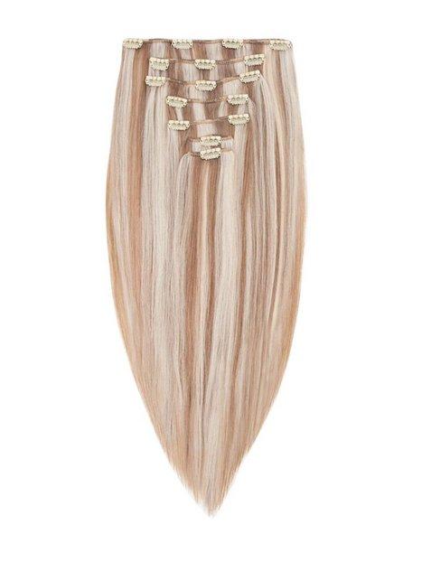 Billede af Rapunzel Of Sweden 30 cm Clip-on set Original 7 pieces Hår forlængning Cendre Ash Blond