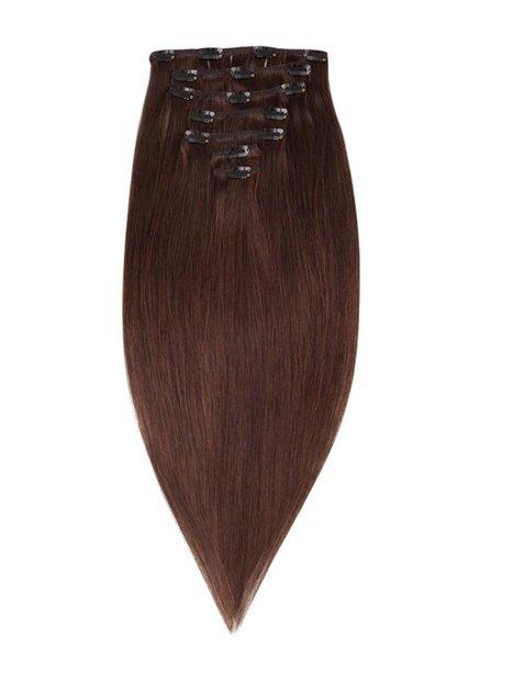 Billede af Rapunzel Of Sweden 40 cm Clip-on set Original 7 pieces Hår forlængning Chocolate Brown