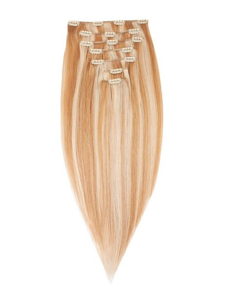 Billede af Rapunzel Of Sweden 40 cm Clip-on set Original 7 pieces Hair extensions Summer Blond