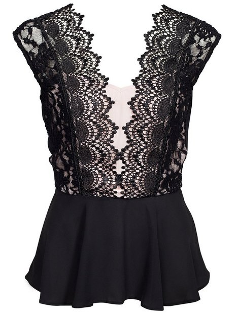 Lace Skater Top