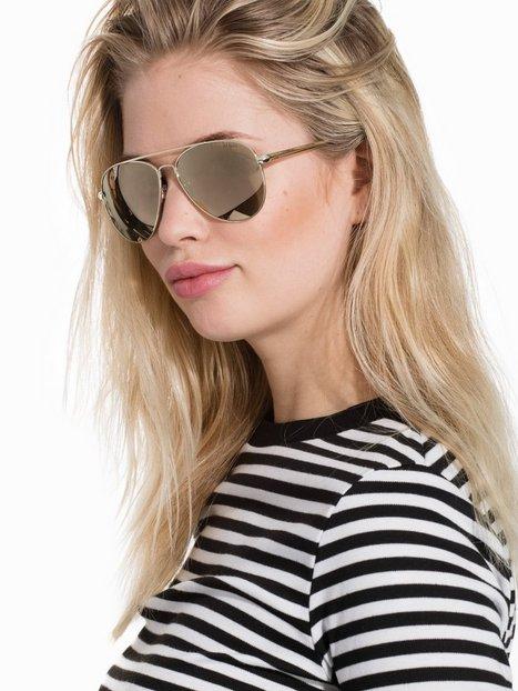 Billede af Le Specs Drop Top Solbriller Guld