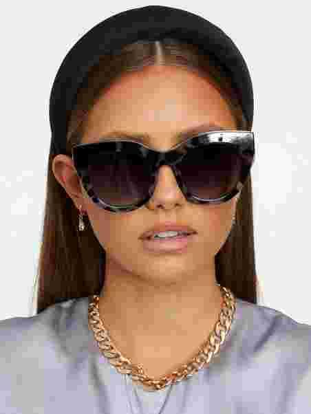 9168a9a3d3 Air Heart - Le Specs - Coal - Sunglasses - Accessories - Women ...