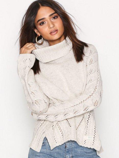 Billede af Odd Molly Ballroom Sweater Strikket trøje Chalk