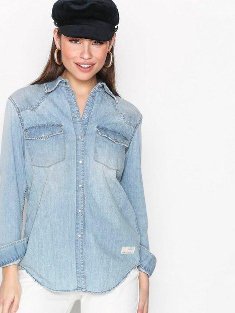 Billede af Odd Molly Cityfied Shirt Skjorter Mid Blue