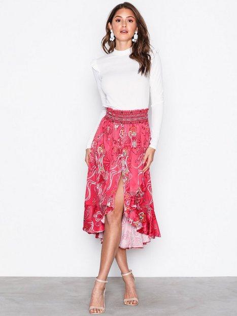 Billede af Odd Molly Delicate Skirt Midi nederdele Raspberry