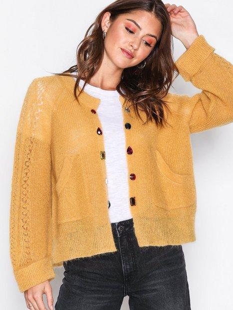 Billede af Odd Molly Choice Maker Cardigan Strikkede trøjer Honning