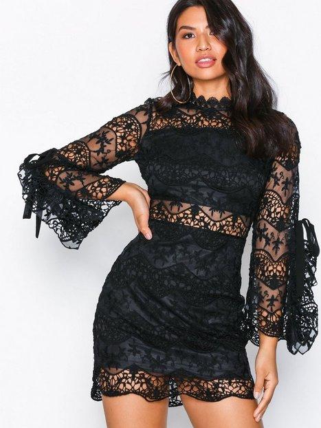 Billede af Parisian Lace Mini Dress Skater kjoler Black