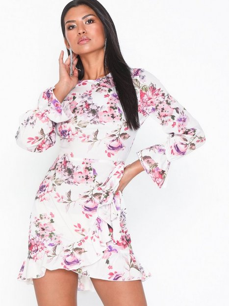 a3856c94df21 Parisian Multi Rose Mini Dress Langærmede kjoler