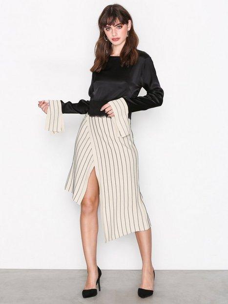 Billede af Dagmar Nia Dress Langærmede kjoler Beige/sort