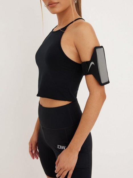 Billede af Nike Lean Arm Band Mobilholder Sort/Sølv